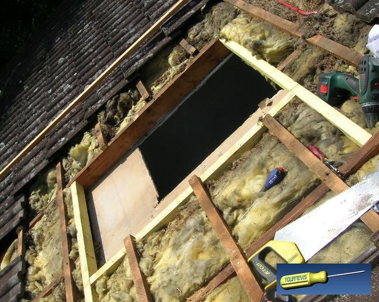 Tournevis poser ou agrandir une fen tre de toit for Pose fenetre de toit velux