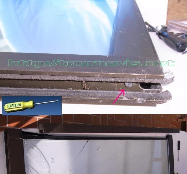 Tournevis remplacer r parer un double vitrage de fenetre ou de v randa - Comment couper du double vitrage ...