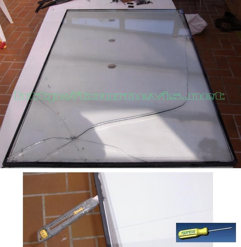 Tournevis remplacer r parer un double vitrage de for Remplacer joint fenetre bois